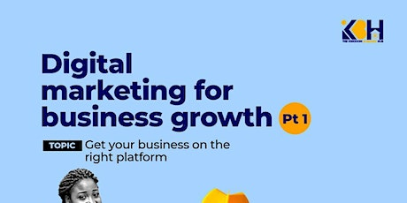 Digital Marketing for Business Growth tickets