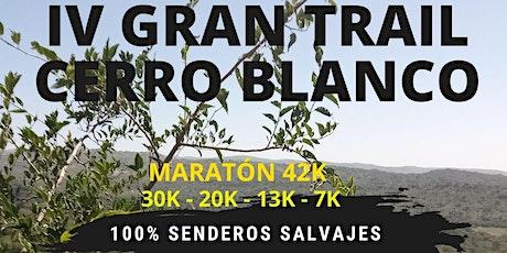 IV GRAN TRAIL CERRO BLANCO ® entradas