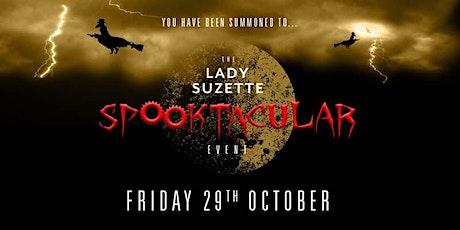 Lady Suzette Spooktakular tickets
