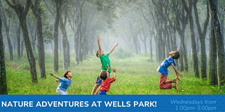 Nature Adventures EalryON outdoor playgroup at Wells Park! tickets