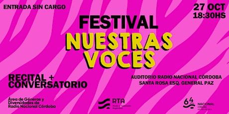 #64Años Festival Nuestras Voces entradas