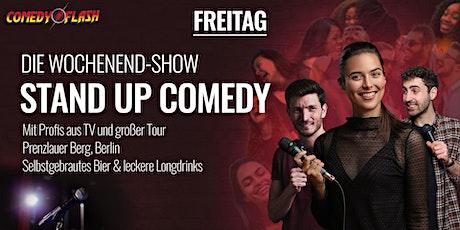 Comedyflash - Die Stand Up Comedy Show in Berlin Prenzlauer Berg Tickets