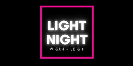 LIGHT NIGHT at Wigan Pier tickets