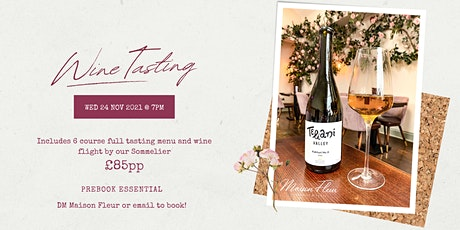 The Maison Fleur Wine Flight - Wine Tasting Experience tickets