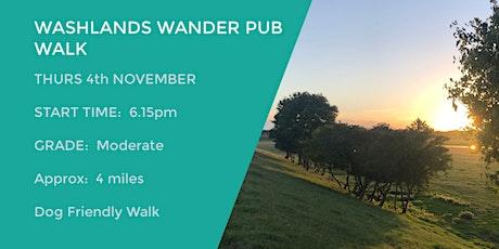 WASHLANDS WANDER PUB WALK | APPROX 4 MILES | MODERATE | NORTHANTS tickets