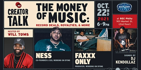 *In Person* Creator Talk: The Money of Music tickets