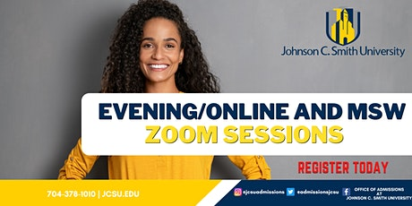 Evening/Online and MSW ZOOM Sessions tickets