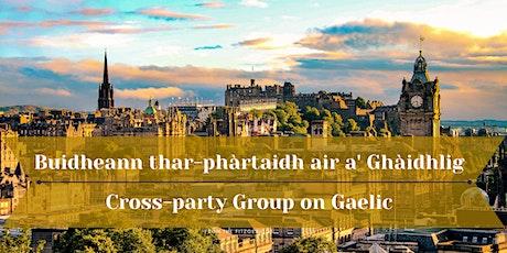 Buidheann thar-phàrtaidh air a' Ghàidhlig / Gaelic Cross-party Group tickets