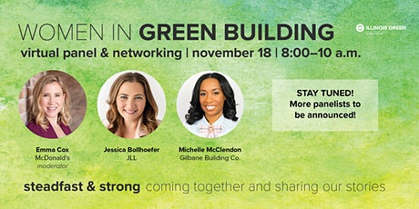 Virtual Women in Green Building Breakfast: Steadfast and Strong tickets