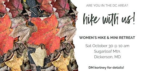Women's Hike and Mini Wellness Retreat tickets