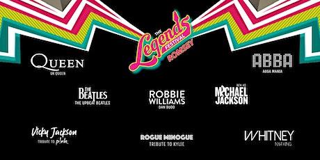 The Legends Festival  - Broadlands Estate, Romsey tickets