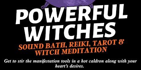 Sound Bath, Reiki, Tarot & Witch Meditation! tickets
