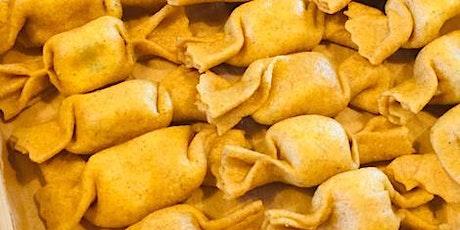 Facciamo caramelle di farina integrale con patate e kale - con SFOGLIA RINA biglietti
