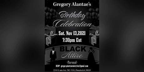 Gregory Alantae's Birthday Celebration tickets
