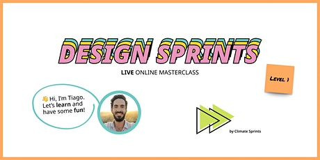 """Level 1 """"Getting There!"""" - Design Sprint Training billets"""