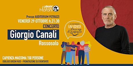 """""""Rossosolo"""" Giorgio Canali in concerto biglietti"""