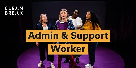 Recruitment Information Session: Admin & Support Worker tickets
