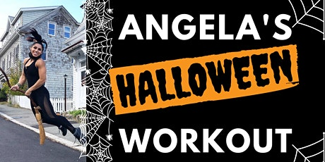 Halloween Workout + Party with Angela Gargano tickets