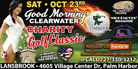 Good Morning Clearwater Charity Golf Classic tickets