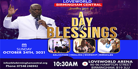 A DAY OF BLESSINGS tickets