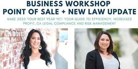 Business Workshop - Point of Sale + New Law Updates tickets