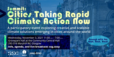 Summit:  Cities Taking Rapid Climate Action Now tickets