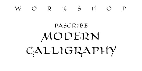 PAScribe Modern Calligraphy tickets