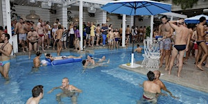 Mardi Gras Pool Party