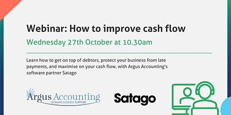 How to improve cash flow tickets
