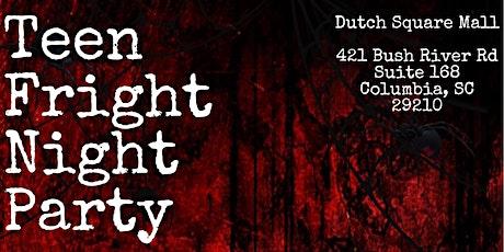 Teen Fright Night Halloween Kickback tickets