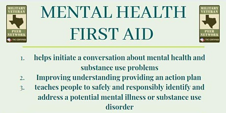 MHFA: Mental Health First Aid tickets