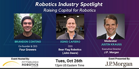 Raising Capital for Robotics tickets