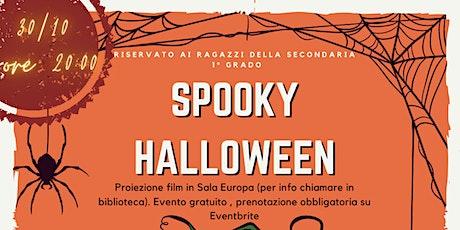 Spooky Halloween Secondaria 1° biglietti