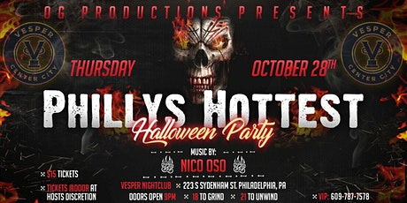 Philly's Hottest Halloween Party tickets