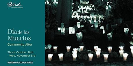 Día de los Muertos Community Altar tickets
