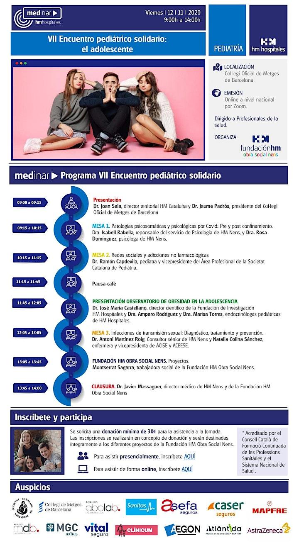 Imagen de VII Encuentro Solidario Fundación HM Obra Social Nens | ONLINE