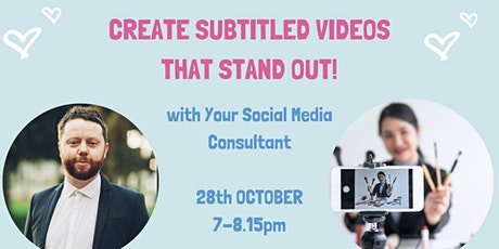 Create subtitled videos that stand out!  CLIPSCRIBE FOR CWP tickets