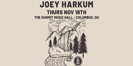 JOEY HARKUM feat RUSS BAUM at The Summit Music Hall - Thursday November 18 tickets