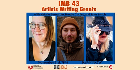 IMB43: Artists Writing Grants tickets