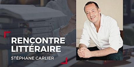 Rencontre littéraire avec / Meeting with Stéphane Carlier billets