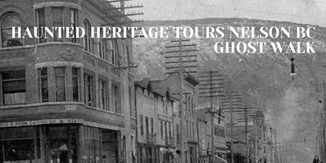 Haunted Heritage Tours Nelson Ghost Walk tickets
