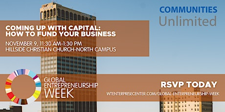 GEW - Coming Up with Capital: How to Fund Your Business tickets