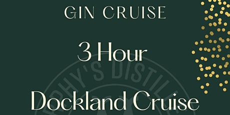 3 Hour Gin Cruise & Gin Tasting tickets
