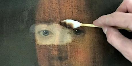 Ghilli Antichità, 'I segreti di Bottega', Restauro di dipinti, Turno 2 biglietti