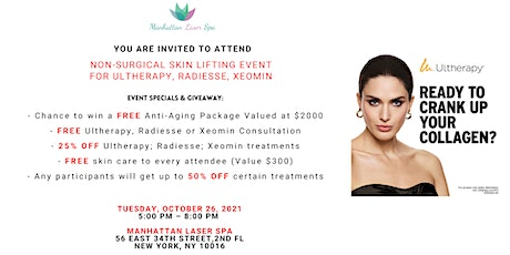 Restore and Rejuvenate:  Non-surgical Skin Tightening and Lifting Event tickets