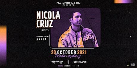 Nü Androids Presents: Nicola Cruz [DJ Set] tickets
