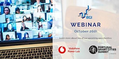 Webinar Vodafone Power Lab & Portugal Smart Cities tickets