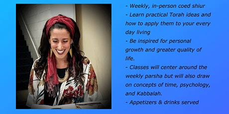 Secrets of the Parsha with Nili Salem Oct 25th tickets