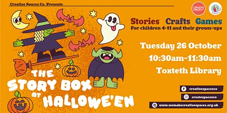 The Story Box at Hallow'een - Toxteth Library tickets