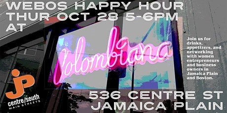 WEBos Happy Hour tickets
